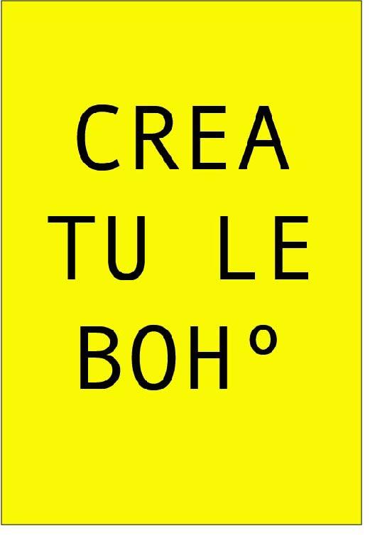Crea tu Le Bohº